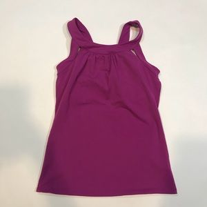 Athleta Second Glance Fuschia Pink Tank 903765 s/m